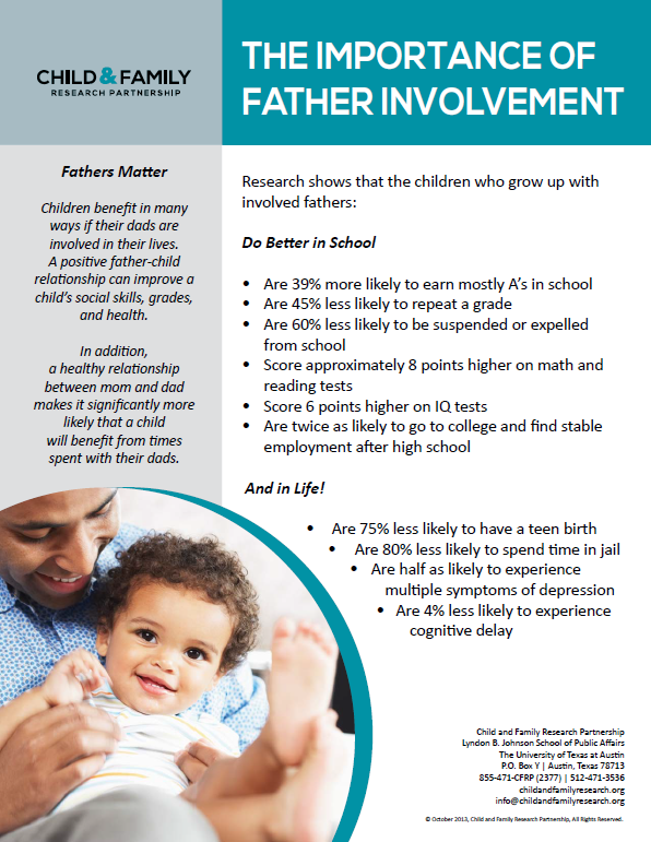 The importance of father involvement